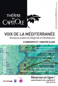 Voix Mediterranee affiche