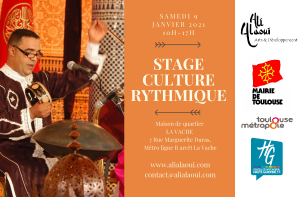 STAGE DE CULTURE RYTHMIQUE @ FRANCE/TOULOUSE